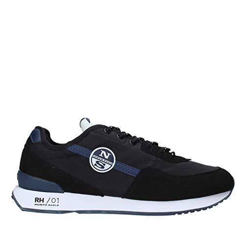 North Sails Micromesh - Zapatillas deportivas Black Negro Size: 41 EU Larga