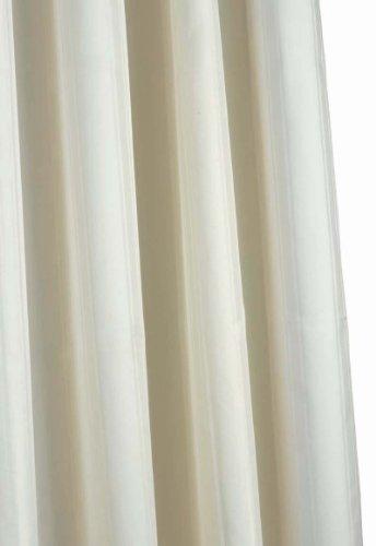 Croydex Textil-Duschvorhang, Elfenbein