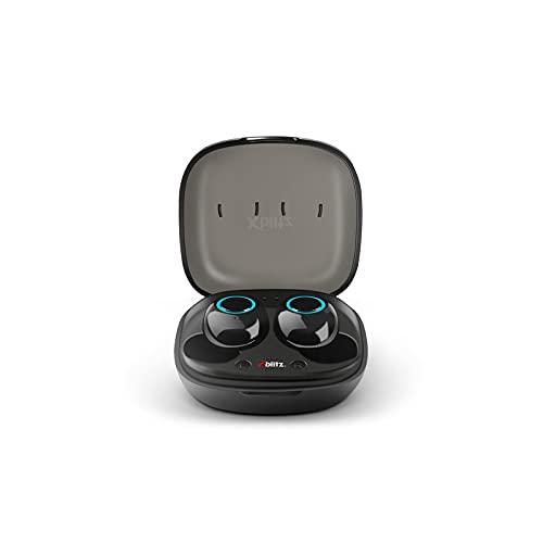 XBLITZ Uni PRO 2 - Auriculares inalámbricos con Bluetooth, perfil de sonido cristalino, alcance de 10 metros, graves profundos, para trabajo y viajes