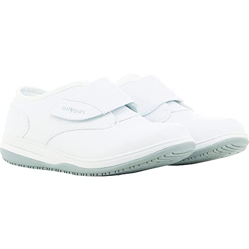 Oxypas Medilogic Emily Slip-resistant, Antistatic Nursing Shoe, White (Wht), 5 UK (38 EU)