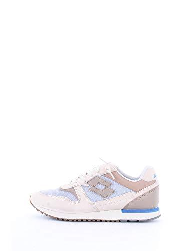scarpe lotto uomo japan LOTTO Legenda T4580 Sneakers Uomo BGE Chk/BRW Mnk 40
