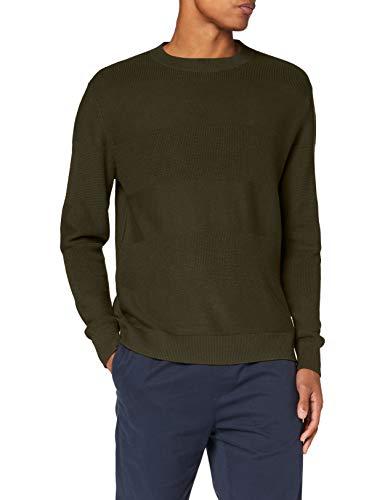 Pepe Jeans Oscar Suéter, Verde (682), Small para Hombre