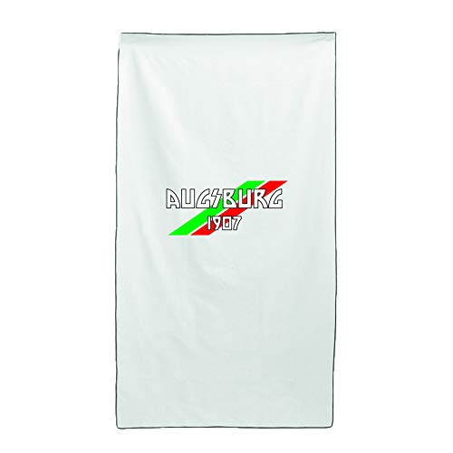 Tipolitografia Ghisleri Handtuch, Strandtuch Strandtuch Handtuch weiß Flagge Augsburg 70 x 140 cm