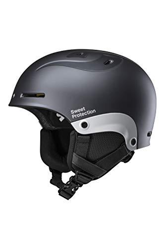 Sweet Protection Blaster II Casque de Ski/Snowboard Mixte Adulte Gris Ardoise métallisé ML