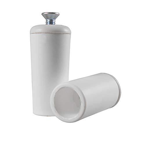 Rolladenstopper Anschlagstopper Rolladen Stopper Farbe Weiß 1ér SET (2 Stück)