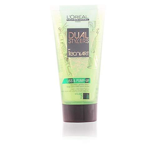 L'Oréal Professionnel TecniART Dual Stylers Liss and Pump-up Volumen 2, 1er Pack, (1x 150 ml)
