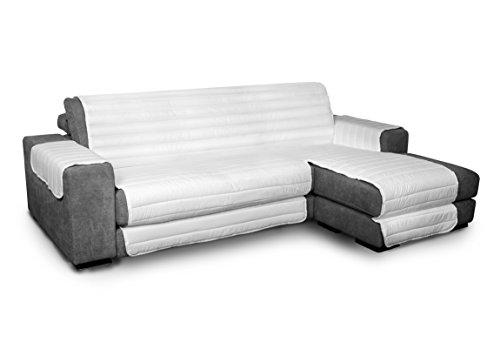 Datex Funda cubre sofà Elegant blanco 290cm