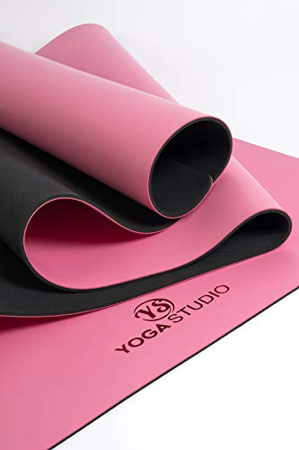 Yoga Studio YS/Grip/Mat Unisex / 4 mm/Rosa Grip Rosa, 68 cm
