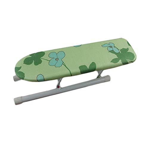 GBPOY Tabla de Planchar Mini Tablero de Planchado Plegable, Tablero de Manga Caliente de 35 * 10 cm de Escritorio para Coser Craft Room Dormir de casa Mesa de Planchar portátil (Color : F)