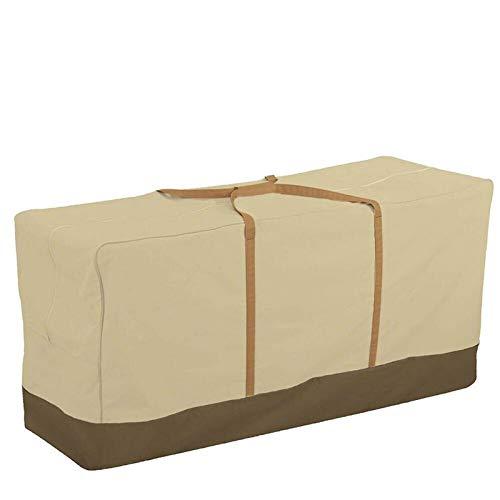 NLLeZ 1 unid Impermeable multifunción Muebles de jardín Bolsa de Almacenamiento Cojines tapizada Cubierta Protectora Cubierta de Gran Capacidad Bolsas de Almacenamiento