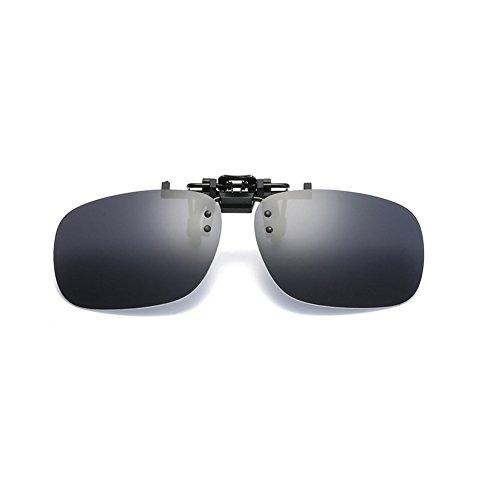 SIMPLEWORD Gafas de sol polarizadas de visión nocturna para mujeres y hombres, gafas de sol amarillas de conducción