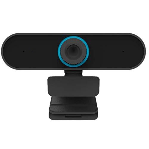 Gaoominy 1080P Webcam MicróFonos CáMara de Video Full HD para PC Conector USB Gran Angular VíDeo en Vivo Curso en LíNea ReunióN Omnipotente