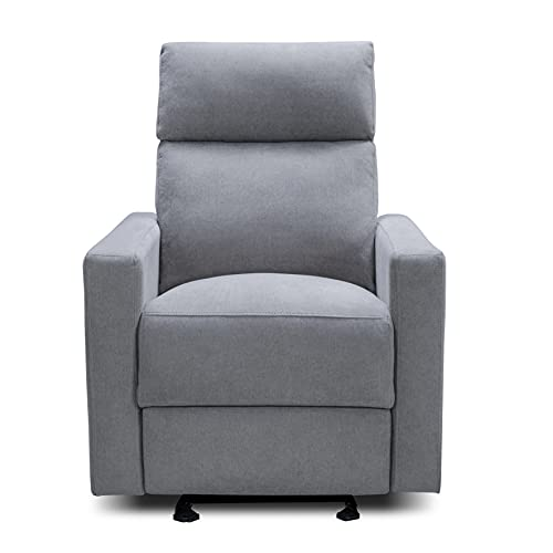 The Glider by Nurture&   Premium Power Recliner Nursery Glider Chair with Adjustable Head Support   Designed with a Thoughtful Combination of Function...