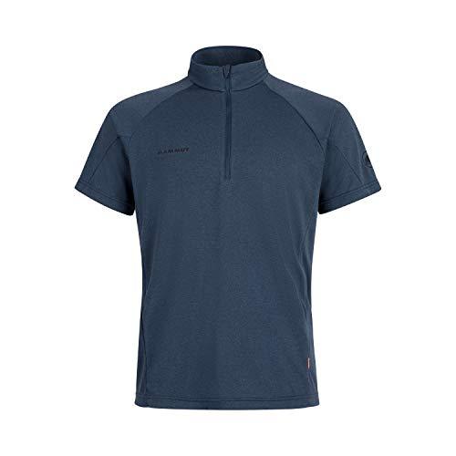 Mammut Herren T-shirt Aegility Half Zip, blau, XL