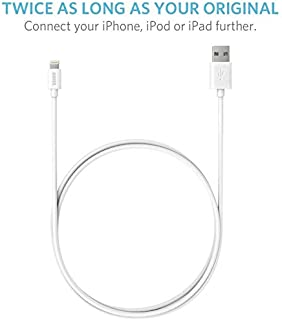 Anker Lightning to USB Cable 6ft / 1.8m Extra Long [] for iPhone, iPad and iPod