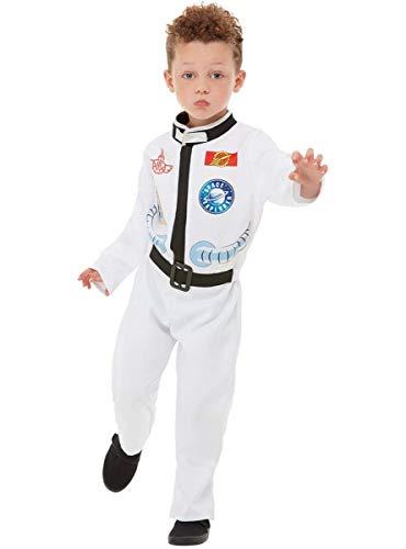 Funidelia | Disfraz de Astronauta para nio y nia Talla 5-6 aos Hombre del Espacio, Espacio, Luna, Profesiones - Blanco
