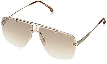 Sunglasses Carrera 1016 /S 0J5G Gold / 86 blackbrowngreen lens 64-11-145