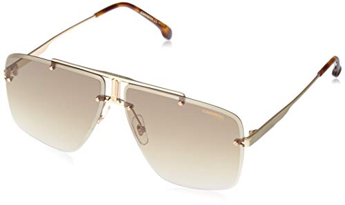 Sunglasses Carrera 1016 /S 0J5G Gold / 86 blackbrowngreen lens, 64-11-145