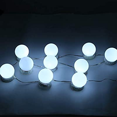 White Led Vanity Mirror Lights Durable 10 Dimmable 18022021120316