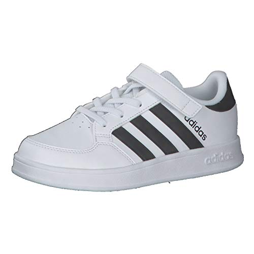 adidas BREAKNET C, Zapatillas de Tenis, FTWBLA/NEGBÁS/FTWBLA, 35 EU ⭐
