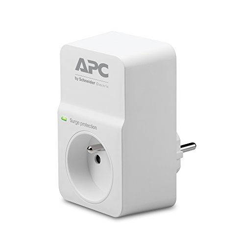 APC Surge Arrest Essential PM1W-FR 1 Steckdose