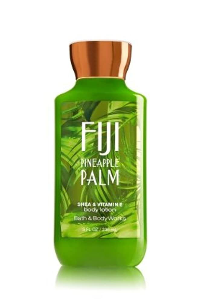 下向きゆるく雲【Bath&Body Works/バス&ボディワークス】 ボディローション フィジーパイナップルパーム Body Lotion Fiji Pineapple Palm 8 fl oz / 236 mL [並行輸入品]