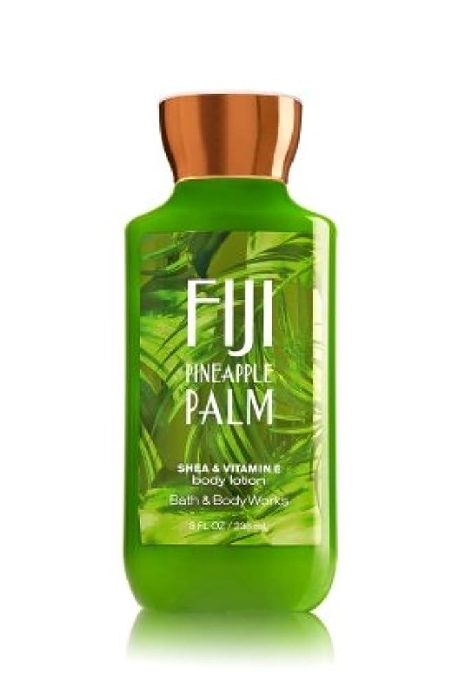 合意家禽三番【Bath&Body Works/バス&ボディワークス】 ボディローション フィジーパイナップルパーム Body Lotion Fiji Pineapple Palm 8 fl oz / 236 mL [並行輸入品]