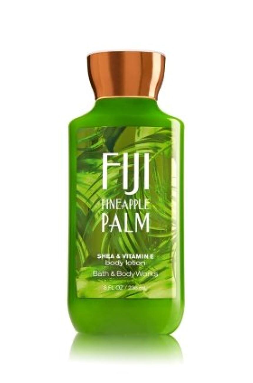 大使癒す旋回【Bath&Body Works/バス&ボディワークス】 ボディローション フィジーパイナップルパーム Body Lotion Fiji Pineapple Palm 8 fl oz / 236 mL [並行輸入品]