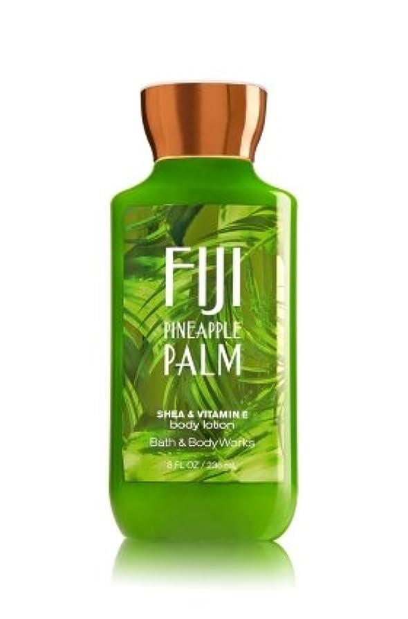 ズボン勝利したナプキン【Bath&Body Works/バス&ボディワークス】 ボディローション フィジーパイナップルパーム Body Lotion Fiji Pineapple Palm 8 fl oz / 236 mL [並行輸入品]