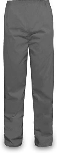 normani Outdoor Sports Regenhose für Damen und Herren wasserdicht 5000 mm für Wandern, Gassi gehen, Angeln oder Fahrad Fahren Farbe Grau Größe S
