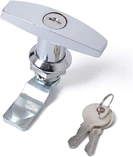 Cerradura de aleación de zinc con llave para remolque caravana toldo caja de herramientas material de aleación de zinc