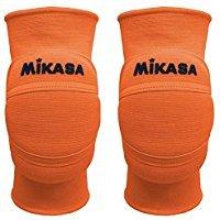 Mikasa MT8 Premier Knieschoner Volleyball, Neonorange (S)