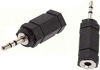 2.5mm Mono Plug male to 3.5mm female Jack Headphone Adapter Converter ab - 2724280571439