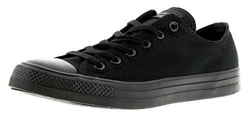 Converse Chuck Taylor All Star Mono Canvas, Sneaker Unisex Adulto, Black Monochrome,...