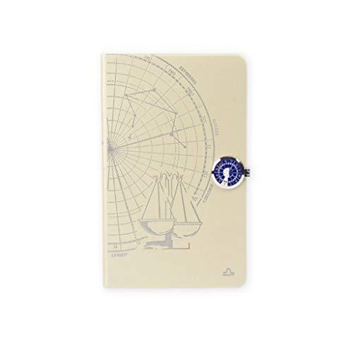 Blocs y Cuadernos de Notas Constellation Cuadernos Diarios for Mujeres Pegatinas de Tapa Dura Hombres Pestañas de Papel rellenables Diario Libro de Aprendizaje Blocs y Cuadernos de Notas