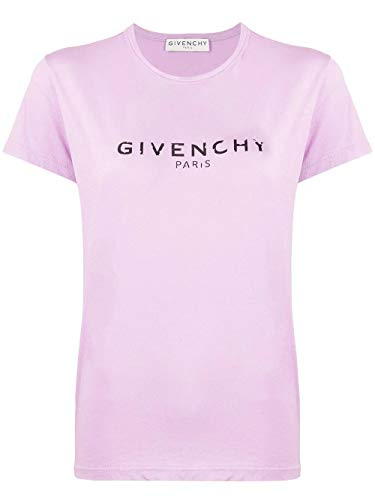 Luxury Fashion | Givenchy Dames BW707X3Z0Y541 Paars Katoen T-shirts | Lente-zomer 20