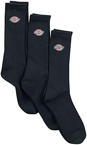 Dickies Valley Groove 3er-Pack Unisex Socken schwarz EU 39-42