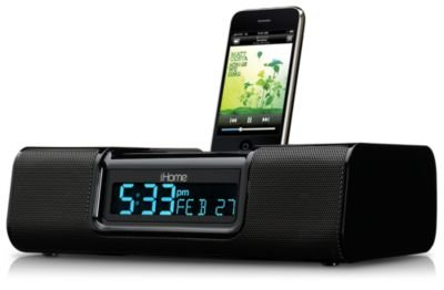 iP9 Clock Radio for iPhone & iPod LCD - Desktop Clock Radio