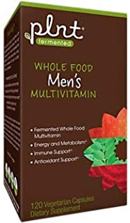 Fermented Whole Food Men's Multivitamin (120 Vegetarian Capsules)