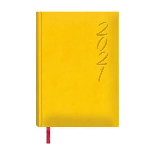 Dohe Agenda Brasilia - Agenda Anual Día Página - Sábado y Domingo en la misma Página - Medidas 15 x 21 cm - 336 páginas - Color Amarillo - Idioma Catalán - Agenda 2019