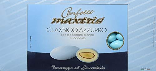 Confetti Maxtris , Classico Azzurro, 1 kg - 1000 gr