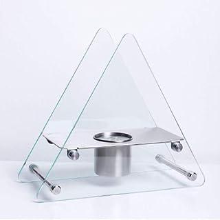 estufa chimenea de Bioetanol New Design Mod.Leo chimenea 0,34KW X Apoyo Mesa