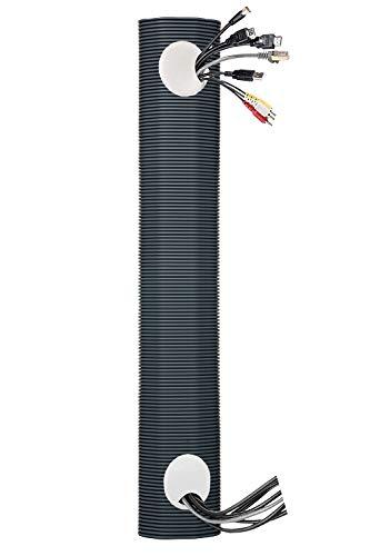 Juego de canaletas para cables | 120 cm de largo | Canal...