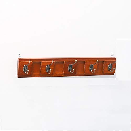 Clothes rack .C kledingrek C-Bin1 Ingang kledingrek, wandmontage Retro kledinghaken kleedkamer Make Old kledingrek massief houten planken meubelen hoedenrekken