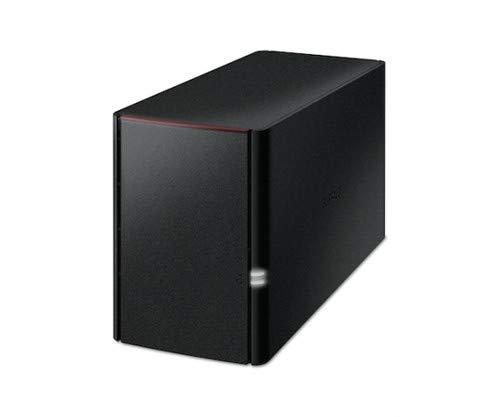 Buffalo LinkStation 220 Eingebauter Ethernet-Anschluss Schwarz NAS