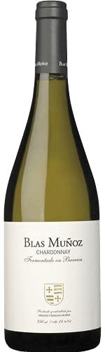 Blas Muñoz Chardonnay Barrica, Vino Blanco, 1 Botella, 75 cl