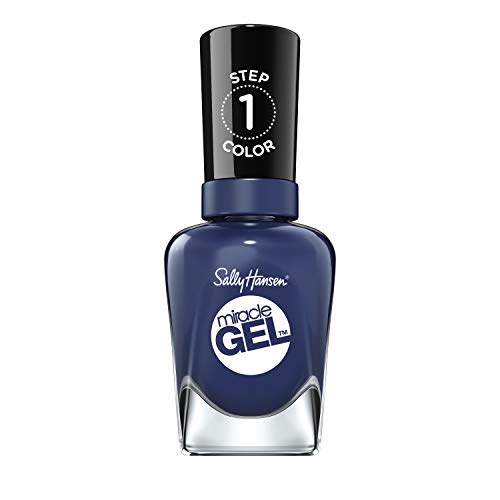 Sally Hansen Miracle Gel Nail Polish Lacquer, Midnight Mod, 0.5 Fl. Oz.