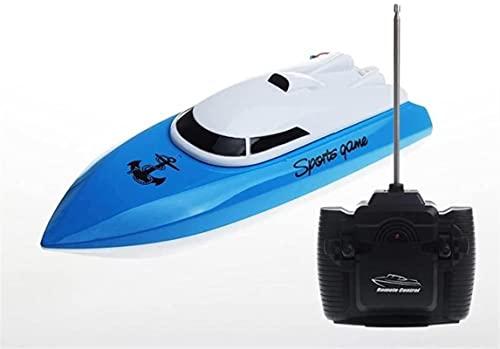 RC Boat 10km / h Mini Velocidad de la Velocidad Juguetes de Control Remoto Barco de Control al Aire Libre Aventura eléctrica 4 Canales