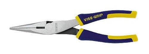 IRWIN Alicate de nariz longo VISE-GRIP com cortador de arame, 2078218