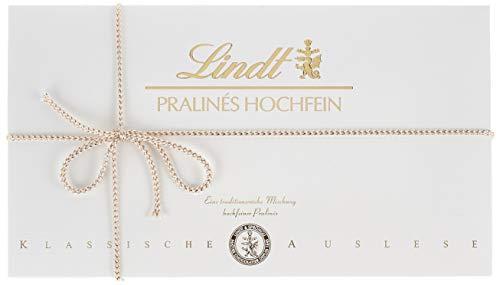 Lindt Pralinés Hochfein, klassische Auslese, 17 unterschiedliche köstliche Sorten, eine Auswahl an unvergleichlichen Pralinen Kreationen, 350 g